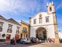 Sao Paulo kościół w Tavira w Algarve regionie, południe Portugalia Zdjęcia Stock