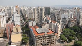 Sao Paulo, la più grande città nel Brasile archivi video