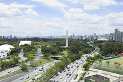 Sao Paulo linia horyzontu Obraz Royalty Free