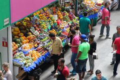 Sao Paulo market Stock Images