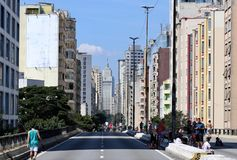 Sao Paulo miasta widoki zdjęcie royalty free