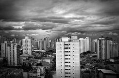 Sao Paulo Modern Buildings View Stock Photos