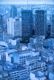 Sao Paulo in the morning Royalty Free Stock Images