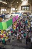 Sao Paulo Municipal Market Brazil images libres de droits