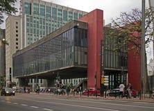 Sao Paulo Museum del arte Fotos de archivo libres de regalías