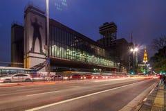 Sao Paulo Museum del arte MASP Imagen de archivo libre de regalías