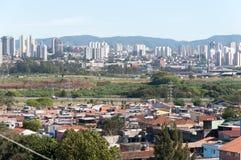 Sao Paulo och Guarulhos royaltyfri fotografi