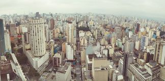 Sao Paulo panorama Royalty Free Stock Images
