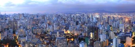 Sao Paulo pejzaż miejski Zdjęcia Stock