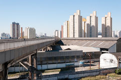 Sao paulo, residential area of the Bras and Mooca Royalty Free Stock Photo