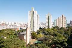 Sao paulo, residential area of the Bras Stock Photos