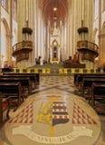 Sao Paulo See Metropolitan Cathedral Stock Afbeeldingen