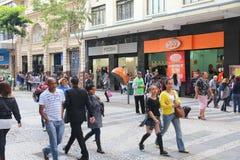 Sao Paulo shopping royaltyfri bild