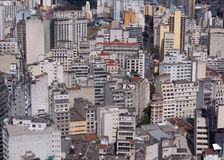 Sao Paulo skyline Stock Photography