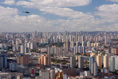 Sao Paulo skyline Royalty Free Stock Photography