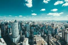Sao Paulo skyline Royalty Free Stock Photo