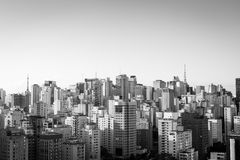 Sao Paulo Skyline Royalty Free Stock Image