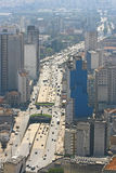 Sao Paulo skyline, Brazil. Skyline of Sao Paulo, downtown Royalty Free Stock Images