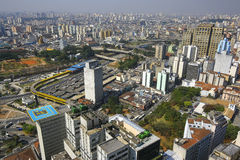 Sao Paulo skyline, Brazil. Stock Photos
