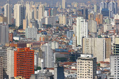 Sao Paulo skyline, Brazil. Royalty Free Stock Images