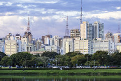 Sao Paulo Skyline, Brazil. The Sao Paulo Skyline, Brazil Stock Photos