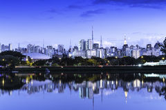 Sao Paulo Skyline, Brazil Royalty Free Stock Photos