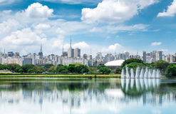 Sao Paulo Skyline, Brazil. The Sao Paulo Skyline, Brazil Royalty Free Stock Images