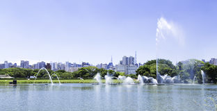 Sao Paulo Skyline, Brazil. The Sao Paulo Skyline, Brazil Royalty Free Stock Image