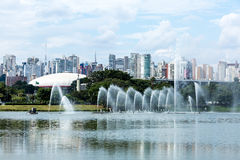 Sao Paulo skyline in Brazil Royalty Free Stock Photography