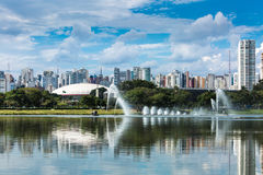 Sao Paulo skyline in Brazil.  Stock Images