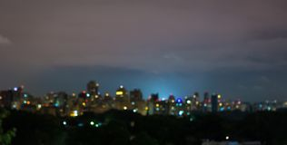 Sao Paulo skyline, Brazil, to be used as a background royalty free stock image
