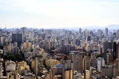 Sao Paulo Skyline Cityscape From Above Photographie stock