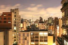 Sao Paulo Skyline at night Stock Images