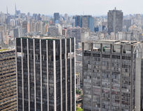 Sao Paulo skyscrapers, Brazil Royalty Free Stock Photo