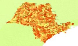 Sao Paulo State - Brazil Royalty Free Stock Image