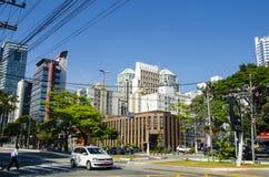 Sao Paulo-Straße stockbilder
