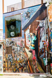 Sao Paulo Street Art Royalty-vrije Stock Foto