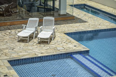 Sao Paulo Swimming Pool Immagini Stock Libere da Diritti