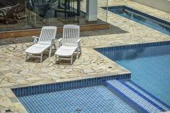 Sao Paulo Swimming Pool Royalty-vrije Stock Afbeeldingen