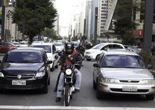 Sao Paulo Traffic Stock Photography