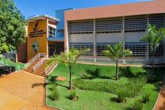 Sao Paulo University i Ribeirao Preto - Brasilien Juli 2017 Royaltyfri Foto