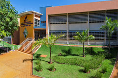 Sao Paulo University in Ribeirao Preto - Brazil. July, 2017.  Royalty Free Stock Photo