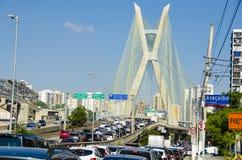 Sao Paulo-Verkehr lizenzfreie stockfotos