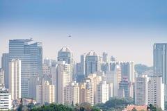 Sao Paulo view biggest city in Latin American. Sao Paulo, Brazil, mai 26, 2018: Building view of the biggest city in Latin American royalty free stock photos