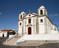 Sao Pedro Church in Palmela, Portugal stock afbeelding