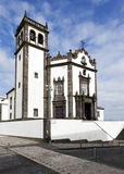 Sao Pedro Church, Ponta Delgada, Azores Stock Photos