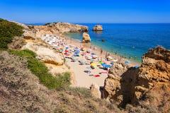 Sao Rafael beach. In Albufeira, Algarve region, Portugal Stock Photos