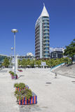 Sao Rafael Tower - Parque das Nacoes - Lisbon Stock Images