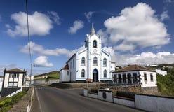 Sao Roque Church Igreja in Altares, Terceira, de Eilanden van de Azoren, Portugal Royalty-vrije Stock Afbeeldingen