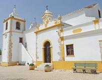 The Sao Salvador Alvor Church, Portugal Stock Images